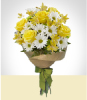 Flores :  - Bouquet Amarillo